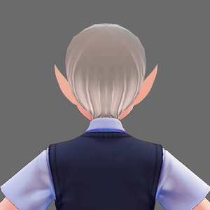【Vroid】エルフ耳 髪プリセット(無料版あり)