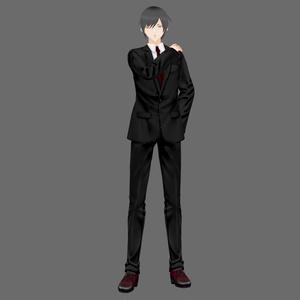 【Vroid】革靴風メンズライクシューズ(オリジナルシューズ作成キット)