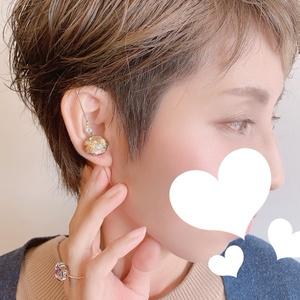 鶴のほまれイメージ耳飾り