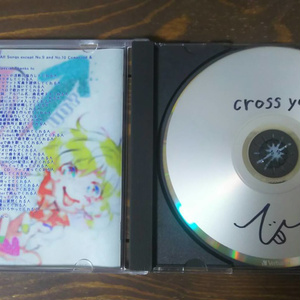 3rdアルバム「cross you」(CD版)