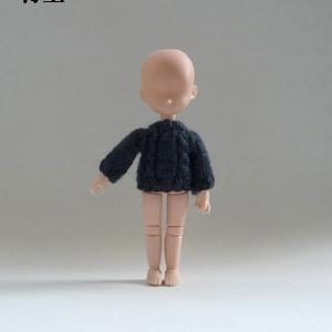 セーター シンプルケーブル