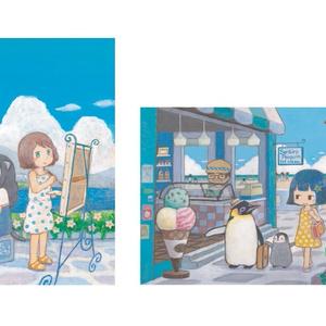 夏のポストカード2枚セット