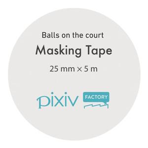 Balls on the court
