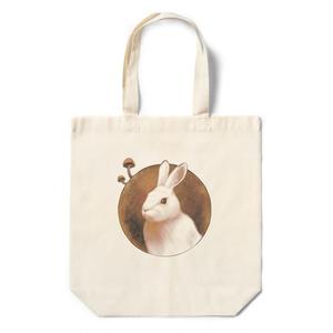 ウサギ愛 with トフンタケエコバッグ