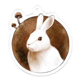 ウサギ愛 with トフンタケ アクリルキーホルダー