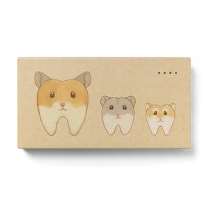 歯ムスタートリオのモバイルバッテリー