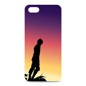 夕暮れのシルエット-iPhone ケース