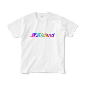 空気islandTシャツ(白)