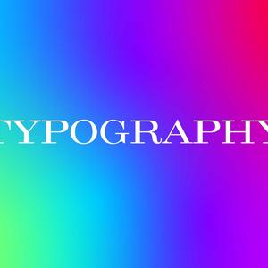 タイポグラフィの講義(レジュメサンプル)