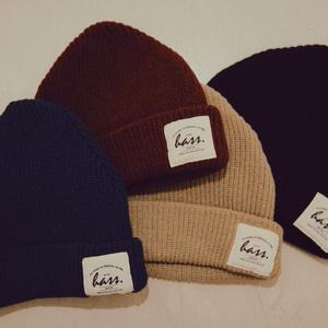 ふんわりニット帽◎使いやすい全4色