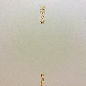詩集『透明な砦』