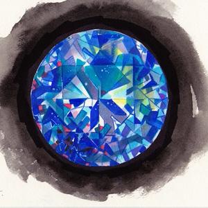 ドローイング原画「宝石」