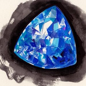 ドローイング原画「宝石2」