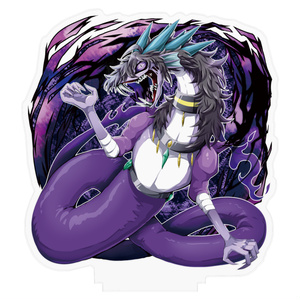 【pixivFACTORY商品】「闇竜X」アクリルフィギュア