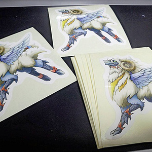 【値下げ / 通常配送】羊ドラゴンステッカー 2枚セット