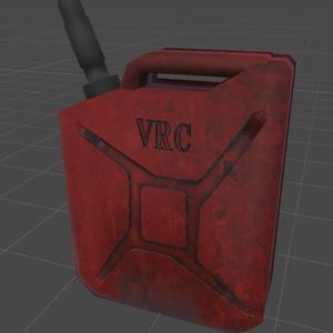 VRChat向け ガソリンポリタンク