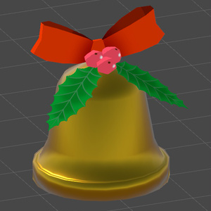 VRChat向け クリスマスベル