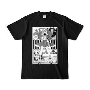 華丸くんティ~シャツ2の黒