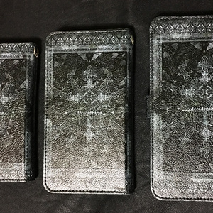 手帳型スマホケース『espiéglerie』黒:S/M/L