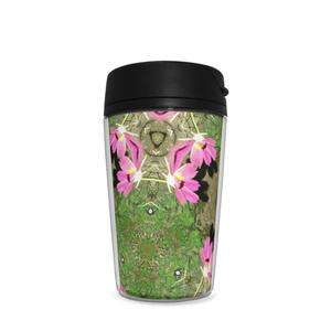植物曼荼羅ピンク×グリーン