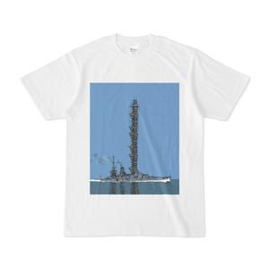 戦艦Tシャツ