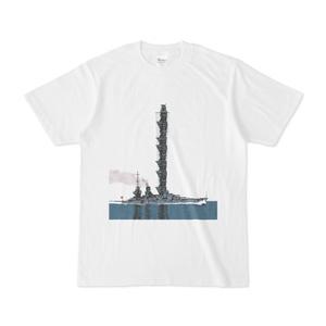 戦艦Tシャツ背景無しver