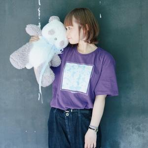 (パープル)TEDDY MAROPAN T-Shirts