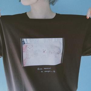 """""""マダカエリタクナイヨ‥""""T-shirts(チョコレート)"""
