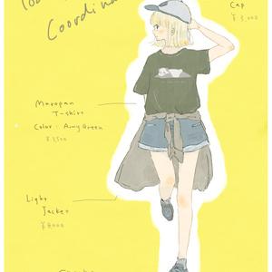 【予約受付】まろぱんTシャツ / アーミーグリーン【7月末以降発送予定】