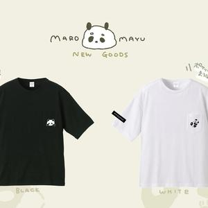 ぽけぽけまろぱんTシャツ(WHITE)