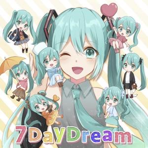 7DayDream +【特典】ランダムポストカード1枚