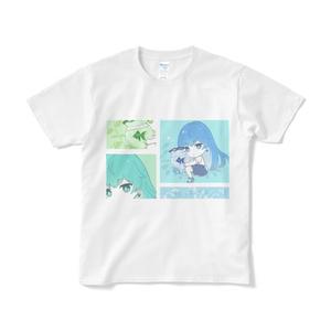 うるひと金魚Tシャツ デザイン2