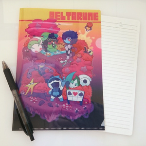Deltarune A5クリアファイル
