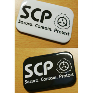 【SCP】財団ロゴ 缶バッジ/マグネット
