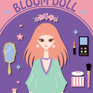 BLOOM DOLL iPhoneケース