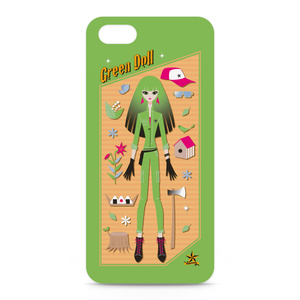 GREEN DOLL iPhoneケース