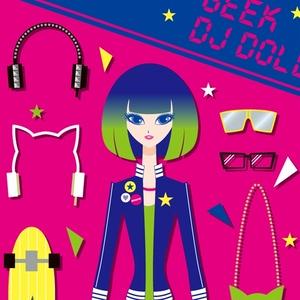 GEEK DJ DOLL iPhoneケース