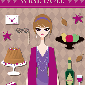 WINE DOLL iPhoneケース