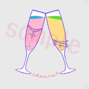 cheers♡缶バッジ