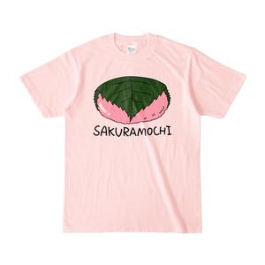 さくらもちTシャツ-ライトピンク