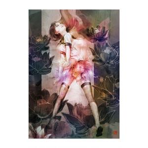 制服少女シリーズ「蓮の花スカートの少女。」