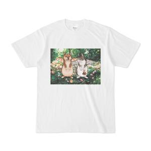 【Tシャツ】犬蝙蝠と猫鶏鐘