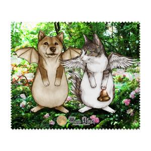 【メガネ拭き】犬蝙蝠と猫鶏鐘