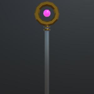 モードチェンジ機能付き 魔導杖