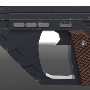 標準装備電子拳銃 燈火