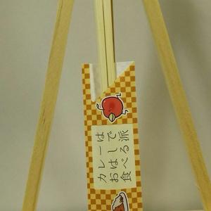 カレーおはし(3膳セット)