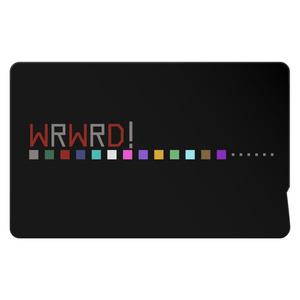【wrwrd!】ICカードステッカー ②