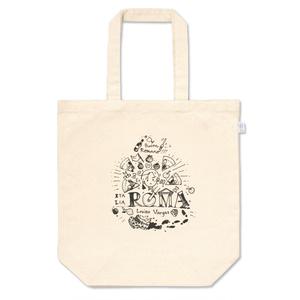 ピッツァな手描きのロゴ風トートバッグ