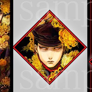 ◆缶バッジ+カードセット(2種類)