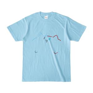轟焦凍風にゃんこTシャツ